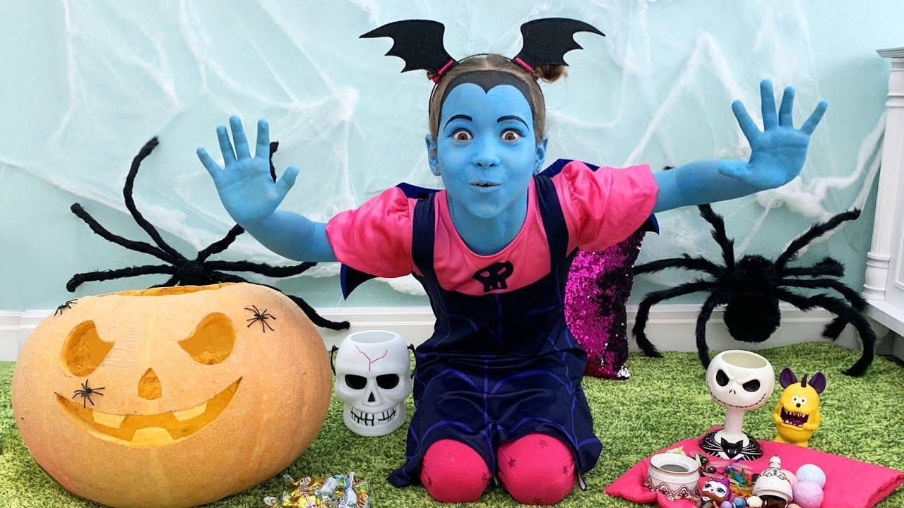 صوفيا التسول الحلوى على هالوين! قصص مضحكة للأطفال