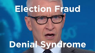 Election Fraud Denial Syndrome (My Wikipedia Article) - What do you think?