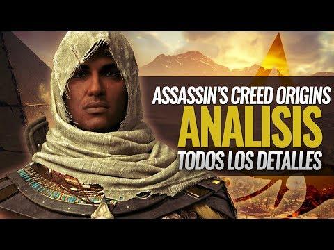 Assassin's Creed ORIGINS 2017 | Análisis e Impresiones | Todos los Detalles del juego | Review
