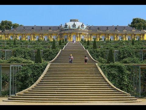 Schloss Sanssouci in Potsdam (Berlin) - Berlino Esoterica parte 4