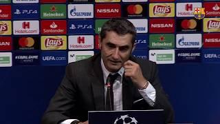 BARÇA 2-0 INTER MILAN | Ernesto Valverde: 'The step up that we needed'
