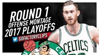 Gordon Hayward Round 1 Offense Highlights vs Clippers (2017 Playoffs) - Welcome to Boston Celtics!