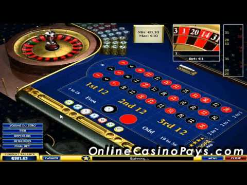 Make money playing online roulette