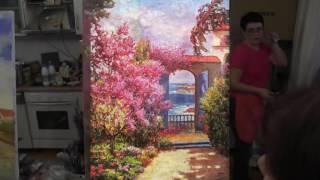 Художник Сахаров, уроки рисования и живописи в Москве для начинающих 1