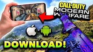How to Download CΟD Modern Warfare on iOS/Android! (Modern Warfare Mobile Tutorial)