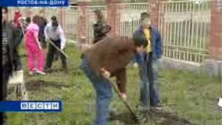 Студенты ДГТУ озеленили приют.avi