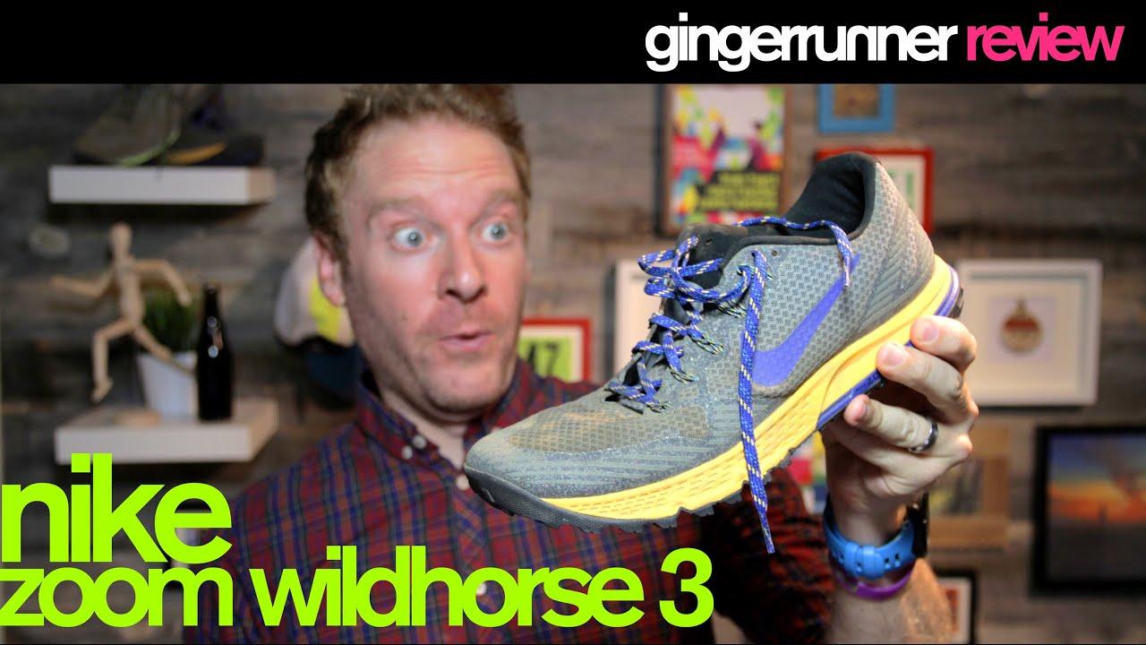 Dictado Peligro ensayo  NIKE ZOOM WILDHORSE 3 REVIEW | The Ginger Runner - YouTube