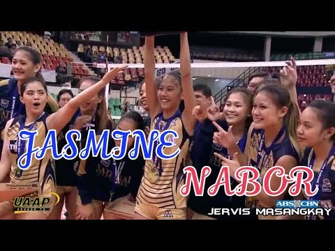 Best of JASMINE NABOR - Philippine Volleyball Highlights [HD]