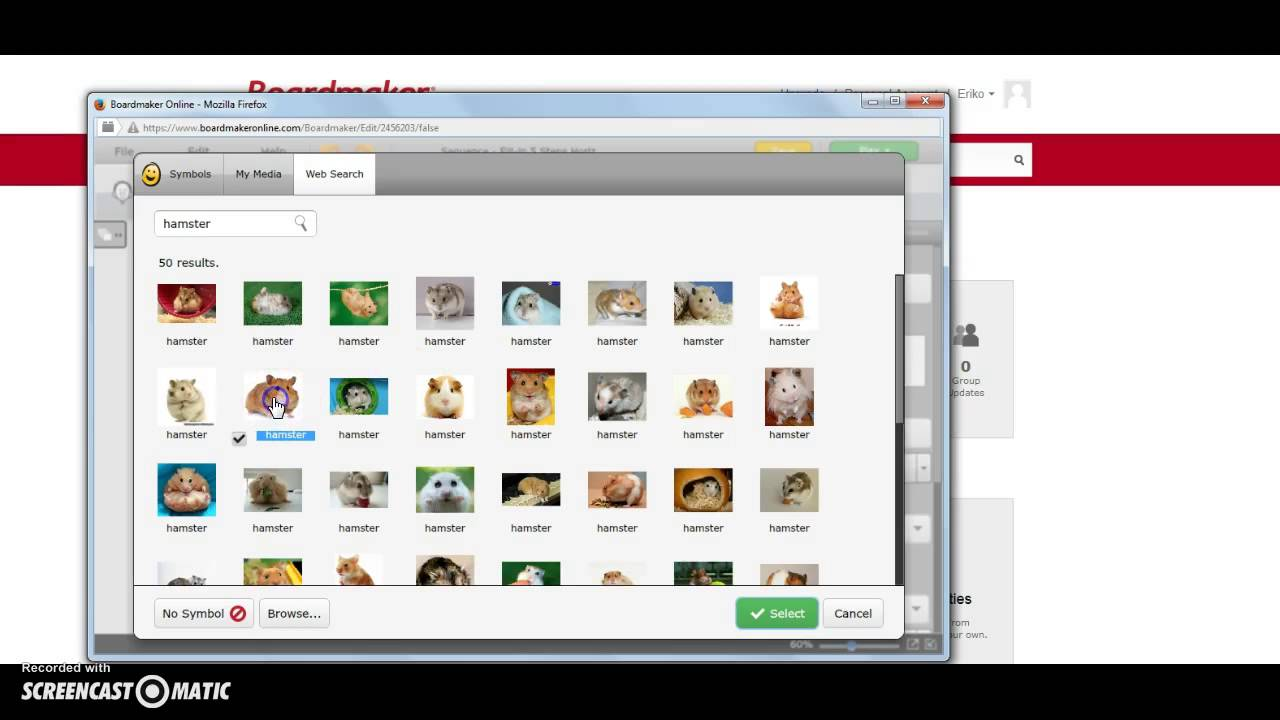 Boardmaker Online: how to make visual schedule - YouTube