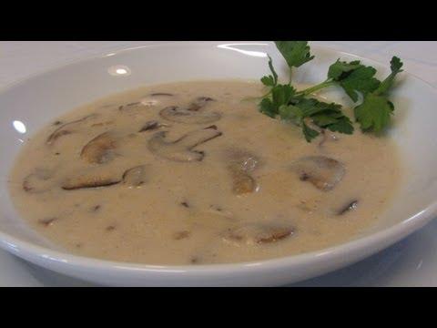 Quick and Easy Cream of Mushroom Soup -- Lynn's Recipes