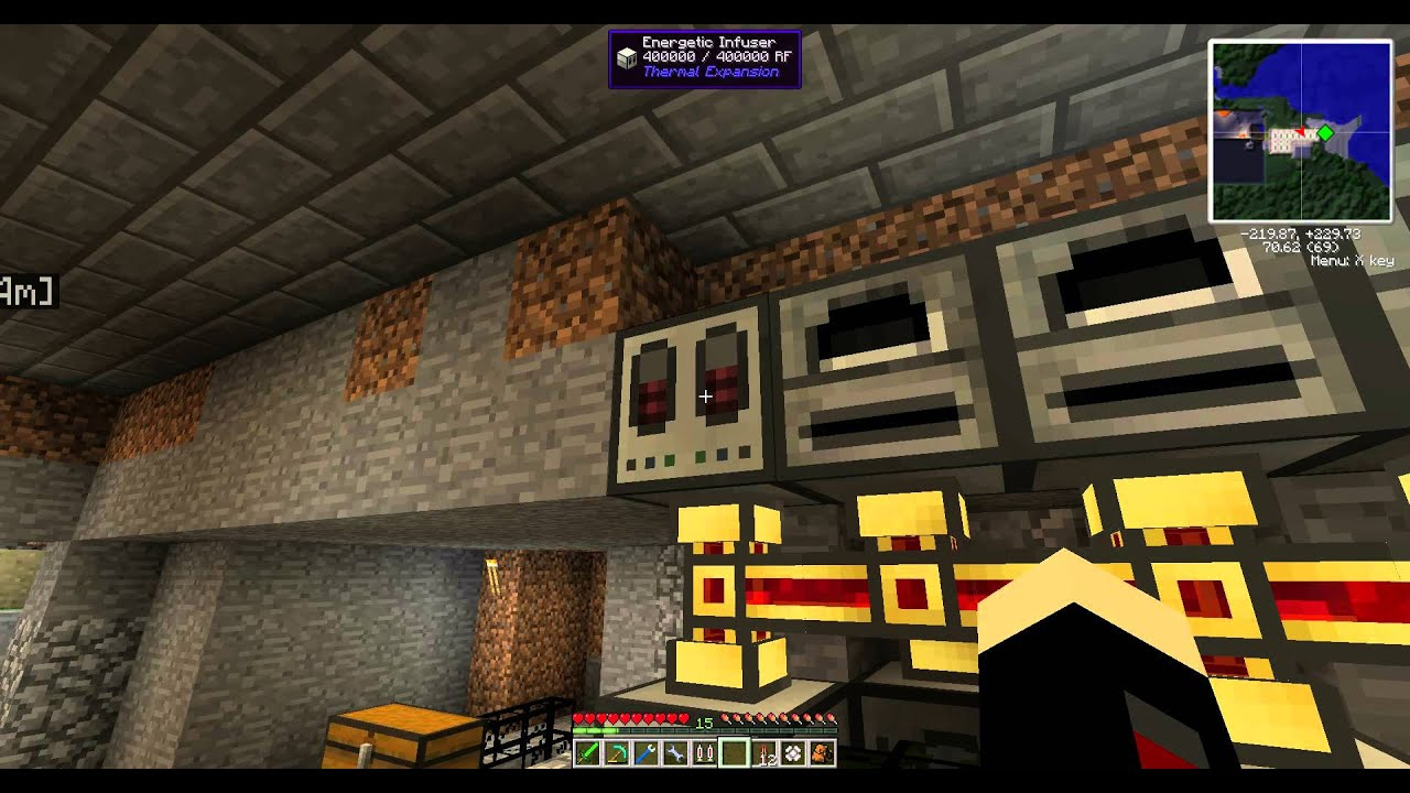 How To charge Simply Jetpacks in Tekkit  YouTube