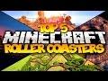 TOP 5 MINECRAFT ROLLER COASTERS! (HD)