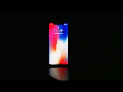 Как разблокировать iPhone X в темноте?