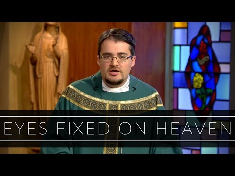 Eyes Fixed on Heaven | Homily: Father Anthony Cusack