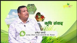 मछ पलनम समसय क?  Krishi Sambad Ramesh Pandey