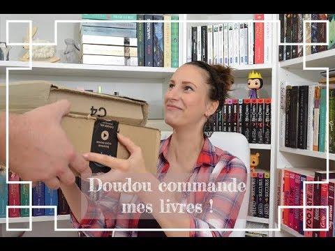 #221 Doudou commande mes livres !! Book haul d'octobre 2018