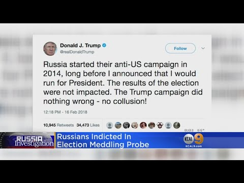 Russians Indicted In Election-Meddling Investigation