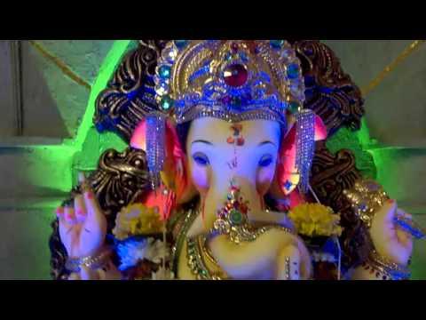 Home Ganpati Decoration 2015 Youtube