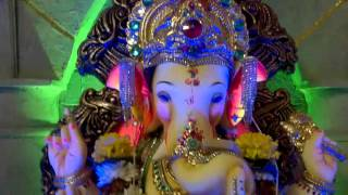 Home Ganpati Decoration 2015