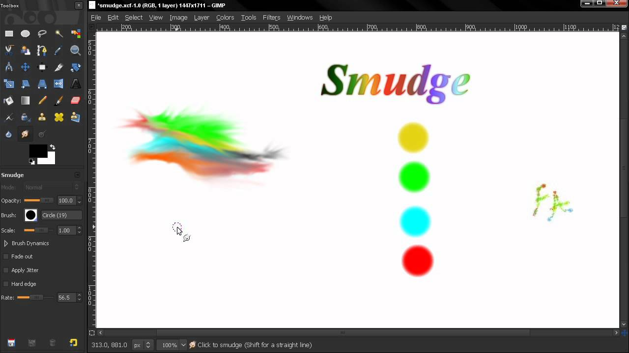 Smudge tool gimp beginners guide ep102 youtube smudge tool gimp beginners guide ep102 sciox Gallery