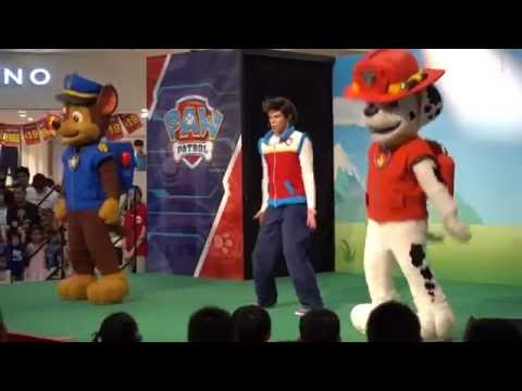 Paw Patrol performance at City Square Mall