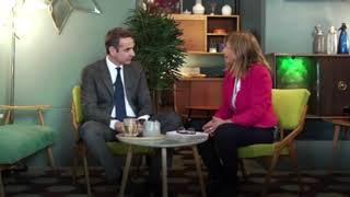 Συνέντευξη Κυριάκου Μητσοτάκη στο δίκτυο Rainews24