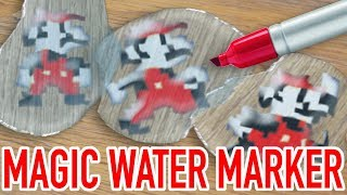 magic water marker CHALLENGE: 80's Video Games EDITION!