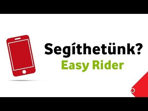 Vodafone Easy Rider alkalmazás - Alapok