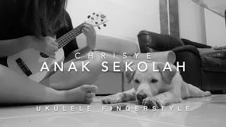 Anak Sekolah - Chrisye   TIKTOK (ukulele fingerstyle) by Yohanna Liang