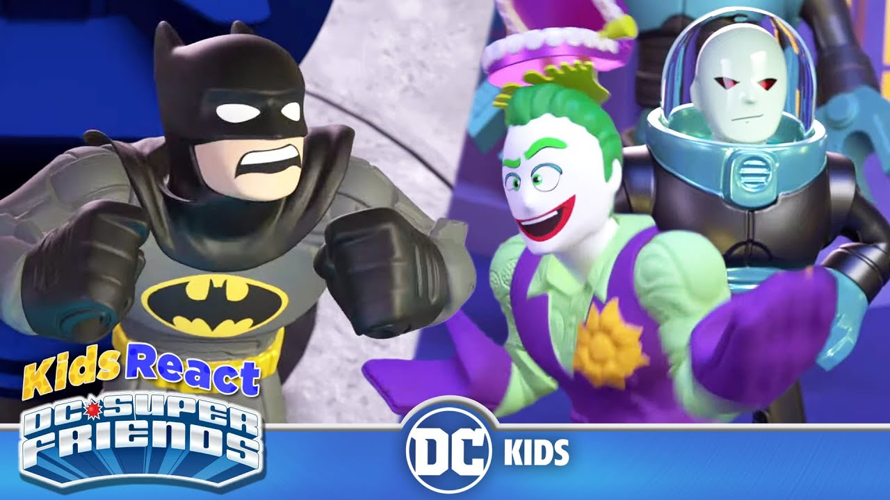 Kids React: DC Super Friends | Double Trouble...Maybe | @DC Kids