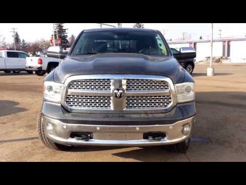 2014 Dodge RAM Laramie 4WD 1500 Crew Cab with Front/Rear Park Assist and More