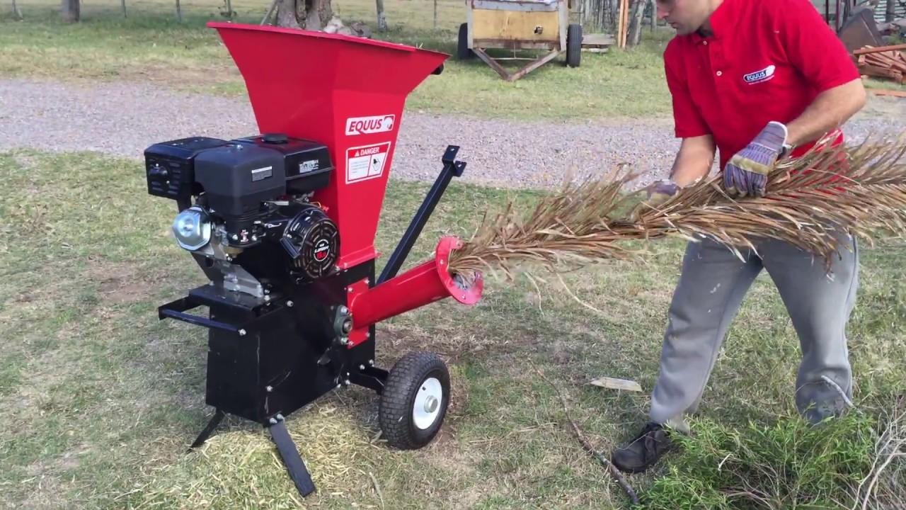 Chipeadora o trituradora de ramas equus motor a nafta 8 - Trituradora de ramas casera ...
