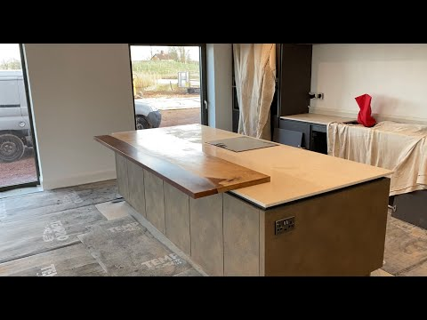 Step By Step How To Make A Resin Kitchen Top And Install