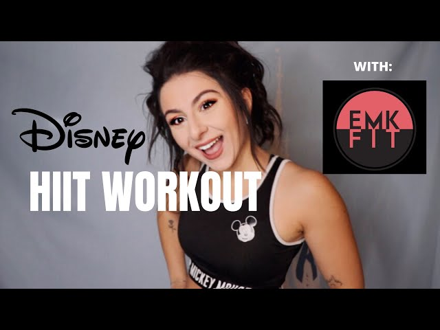 20 Minute Full Body Disney HIIT Workout