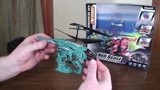 Silverlit - Heli Beast - Review and Flight