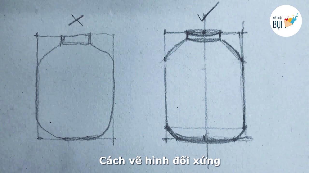 Các Lỗi thường gặp khi Vẽ Chì và Cách Vẽ Đúng