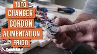 Comment changer le cordon d'alimentation sur un frigo