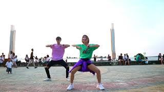 JOGET AISYAH JATUH CINTA DANCE SHOW IN PUBLIC