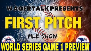 2021 World Series Picks and Predictions | Houston Astros vs Atlanta Braves | First Pitch | Oct 26