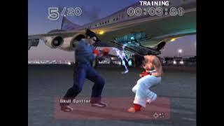 TAS Tekken 4 Training   Kazuya Mishima