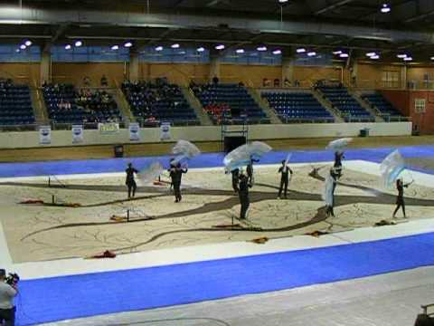 Big Spring Color Guard Championship Performance 2012 1st Place!!