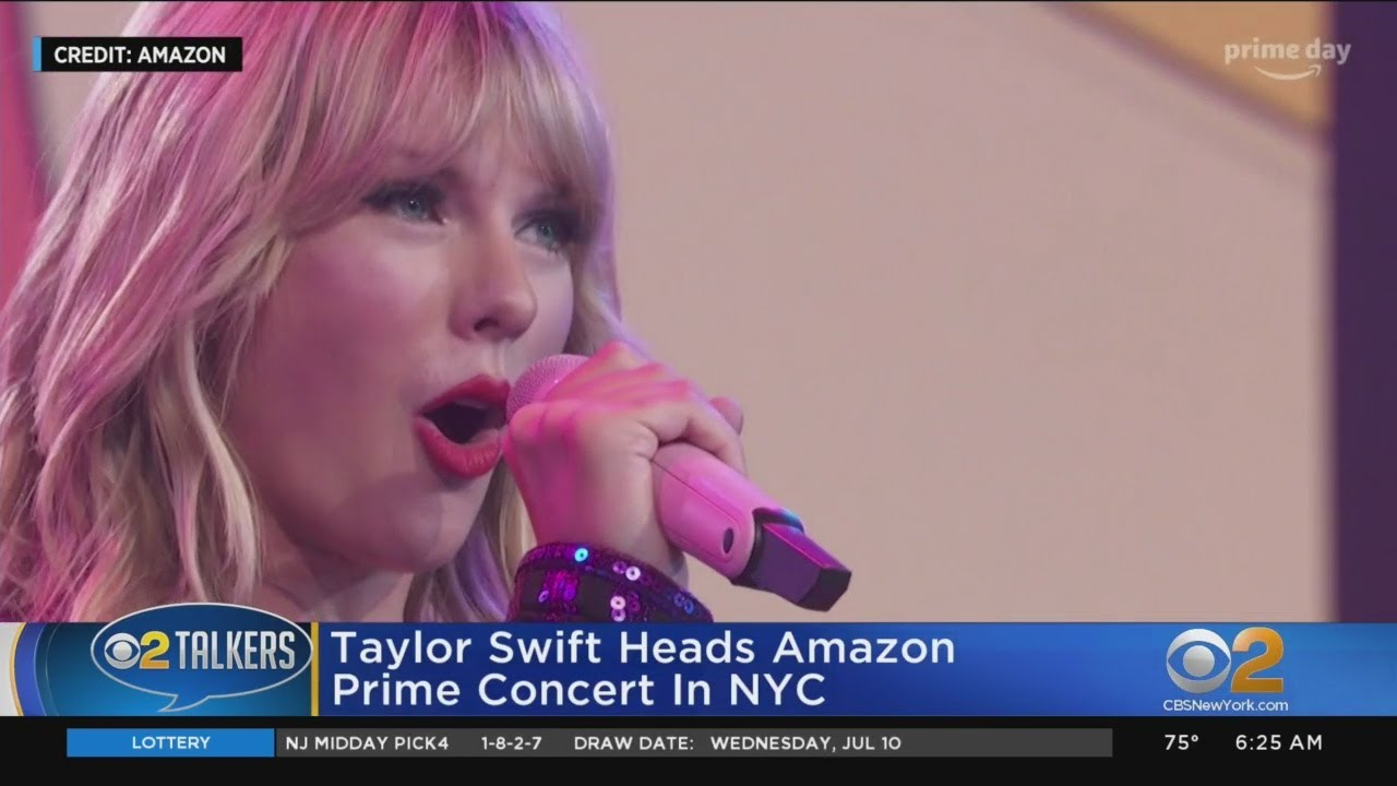 Taylor Swift Performs Amazon Prime Concert In Nyc Youtube