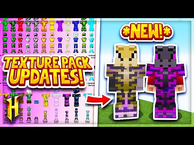 Hypixel Skyblock New Hypixel Skyblock Texture Pack Update L Minecraft Skyblock 54 Youtube