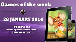 Best iOS Games Of the Week 28th January 2014 by iGamesView