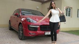 DUBAI LIFESTYLE: HOT GIRL GOT A PORSCHE !!!