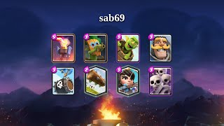 sab69   Goblin Barrel, SkeĮeton Barrel deck gameplay [TOP 200]   November 2020