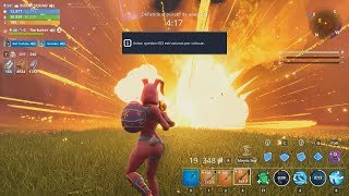 METEORITES DESTRUCT MY BASE IN FORTNITE SAVE THE WORLD