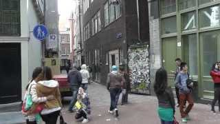 амстердам улица красн фонарей   阿姆斯特丹 mp4 HD