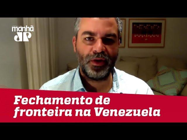 Fechamento de fronteira na Venezuela é drama para milhares de pessoas | #CarlosAndreazza