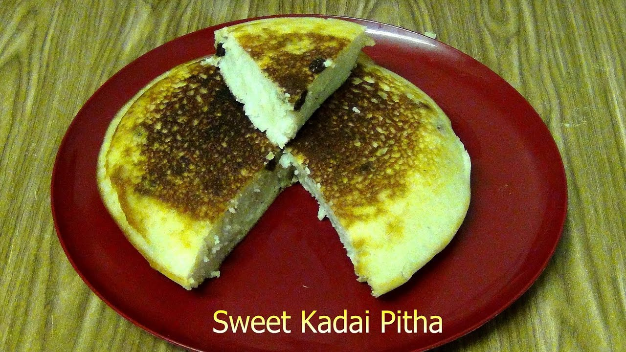 Cake Recipe With Kadai: Sweet Kadai Pitha (Traditional Odia Famous Pan Cake